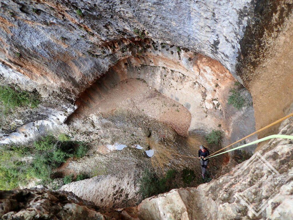 barranquismo puente del pilar sierra de guara2